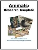 Animal Research Template EDITABLE