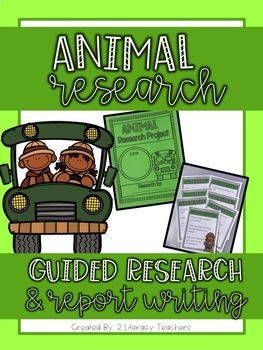 Animal Research: A Guided Research and Report Writing Pack