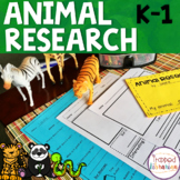 Animal Research:  Kindergarten and First Grade