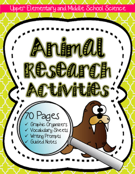 Animal Research: Animal, Ecology, Biome & Habitat Activity for Big Kids