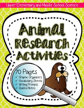 Animal Research: Animal, Ecology, Biome & Habitat Activity