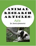 Animal Research: Asia!