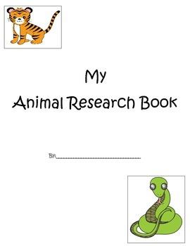 Animal Research Book (Common Core Aligned)