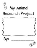 Animal Research Book Project