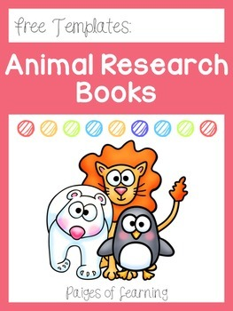Animal Research Book Templates
