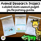 Animal Research Project and Report {Easy Research Booklet & distance learning}