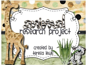 Animal Research Common Core Aligned