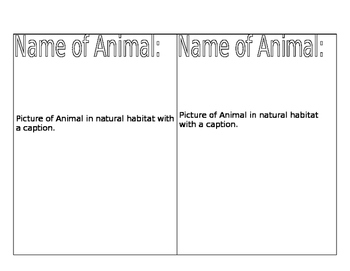 Animal Research - Ecosystems