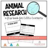 Animal Research Flip Book