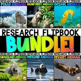 Animal Research Flipbook Bundle!