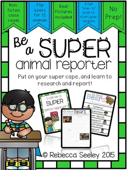 Animal Research: Flipbook Style