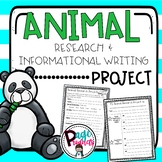 Animal Research & Informational Writing Project
