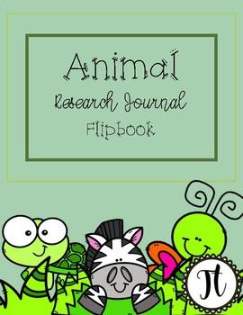 Animal Research Journals/ Flip books
