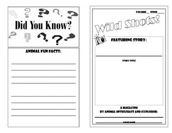 Animal Research- Make Your Own Animal Magazine