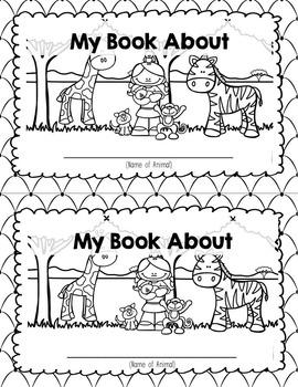 Animal Research Report Mini Book