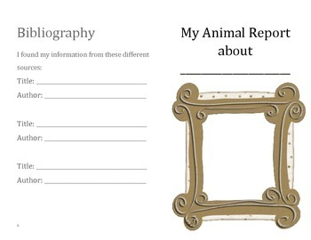 Animal Research Non Fiction Booklet