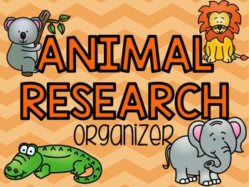 Animal Research Organizer Teaching Resources | Teachers Pay Teachers