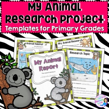 Animal Reports -Research Printables