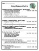 Animal Research Packet Expository Writing (Outline, Publishing Template, Rubric)