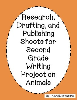 Animal Research Packet- Second Grade