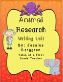 Animal Research Paper {A Writing Unit}