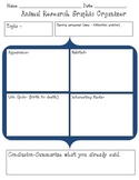 Animal Research Paper Graphic Organizer