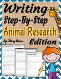 Writing Step-By-Step Animal Research