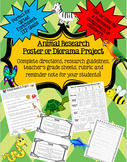 Animal Research Poster or Diorama Project: Perfect for Gif