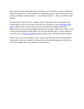 Animal Research Practice Argument for NYS Common Core Regents Exam