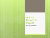 Animal Research Presentation