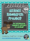 Animal Research Project {An Informative Research Project on Animals}