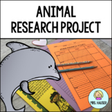 Animal Research Project - CCSS Aligned!