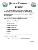 Animal Research Project (All About Book)