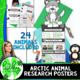 Animal Research Report Template | Arctic Animals Research |
