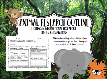 Animal Research Project (Biomes & Adaptations)