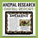 Animal Research Project - Digital Report