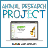 Animal Research Project | Distance Learning
