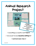 Animal Research Project {Expository Writing}