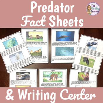 Animal Research Project Fact Sheets and Writing Activity