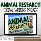 Animal Research Project   Google Slides Informative Writin
