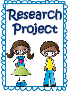 Animal Research Project Grades 3-6