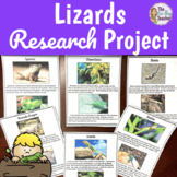 Animal Research Project Lizards