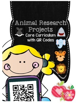 Animal Research Project Nonfiction Common Core Writing