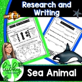 Animal Research Report Template | Ocean Animals