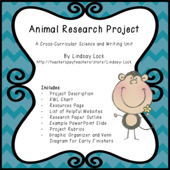 Animal Research Project Pack