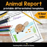 Animal Research Project: Printable Report Writing Templates