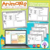 Animal Research Project/ Proyecto Investigación: animales