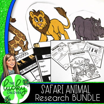 Animal Research Project | Safari Animals | BUNDLE