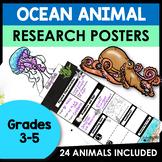 Animal Research Reports Template | Ocean Animals Activitie