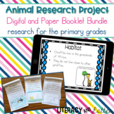 Animal Research Project and Report: Digital and Paper Book
